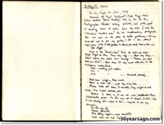 1971 Journal page 1